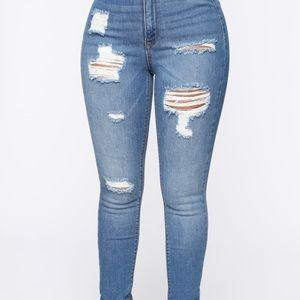 Size 3and 5- Fashion Nova High-Rise Jeans